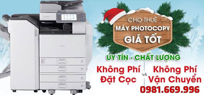 Cho thue may photocopy Hai Phong