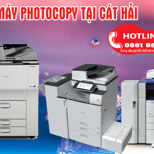 Bán máy photocopy tại Cát Hải
